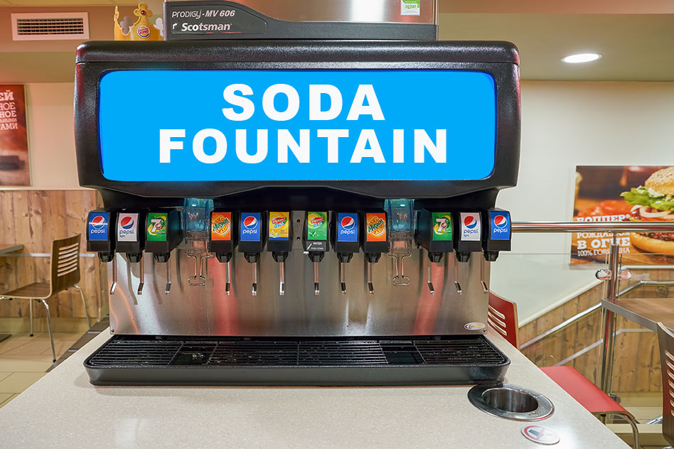 fountain drink co2 delivery