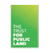 Logo for the Trust for Public Land.