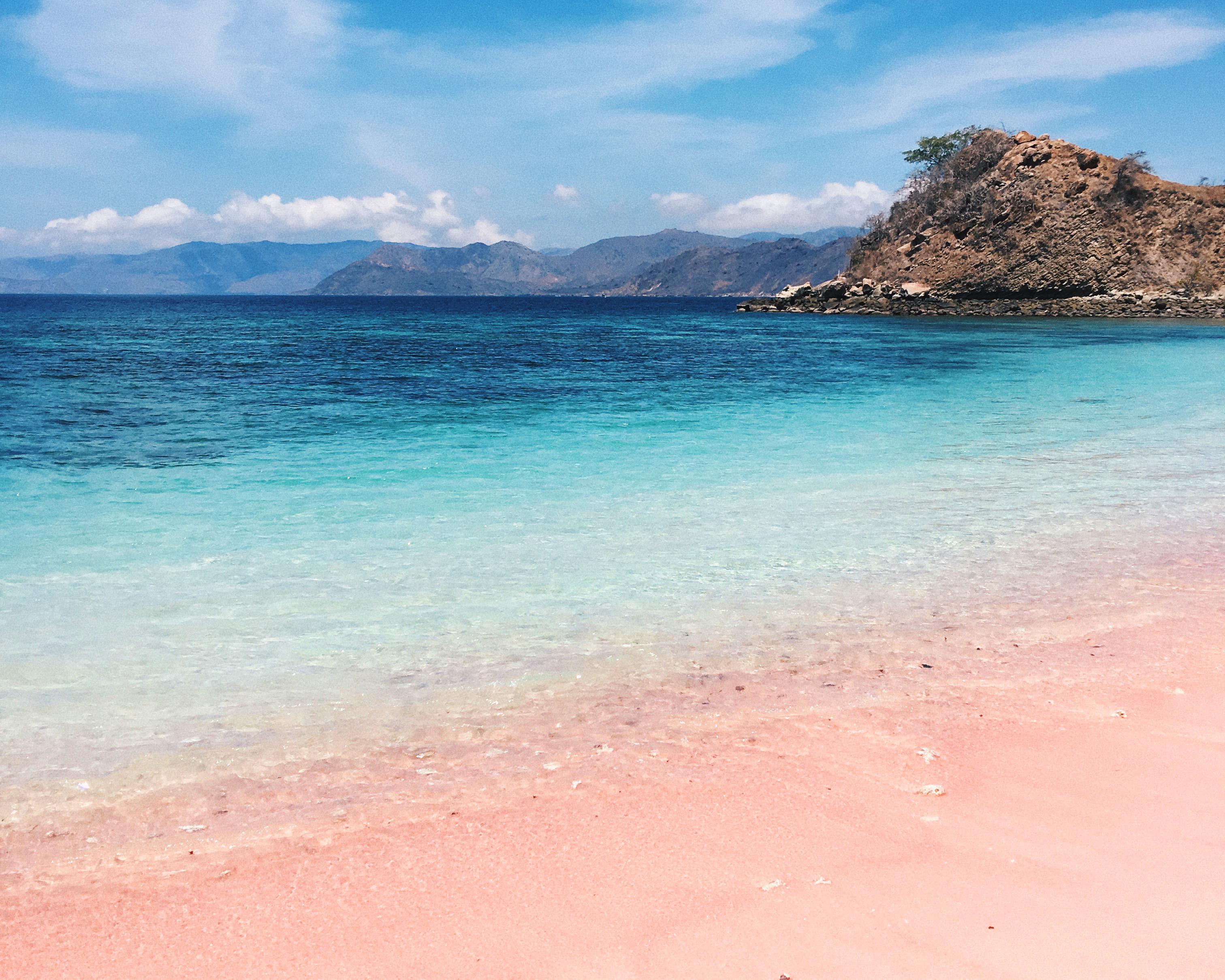 Pink Beach - Food on Fork