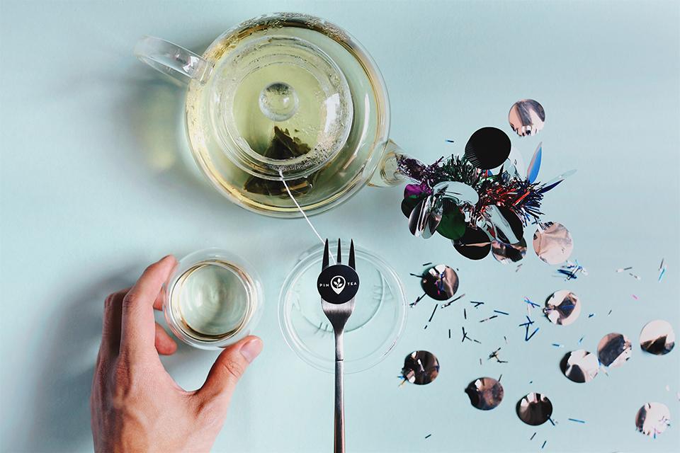 Pin-Tea-Go-The-Mile-Food-on-Fork