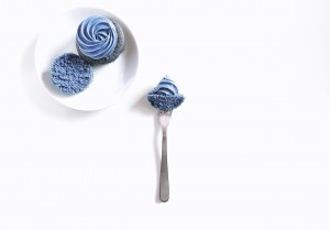 Plain-Vanilla-cupcake-food-on-fork1