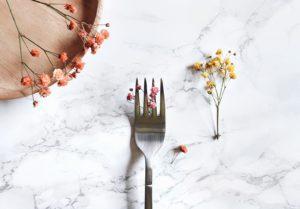 Wood Flower Cottage - Food on Fork