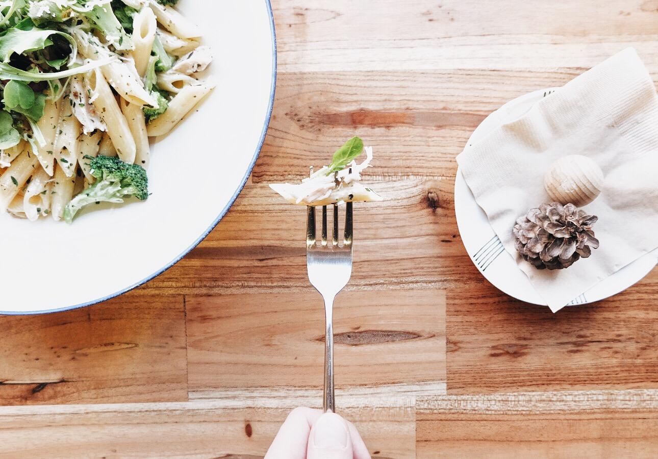 daomm-food on fork