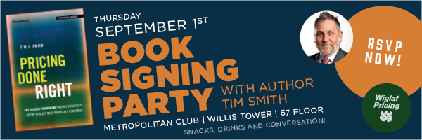 Pricing Done Right Book Signing Party