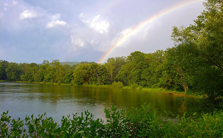 Crystal Lake - rainbow