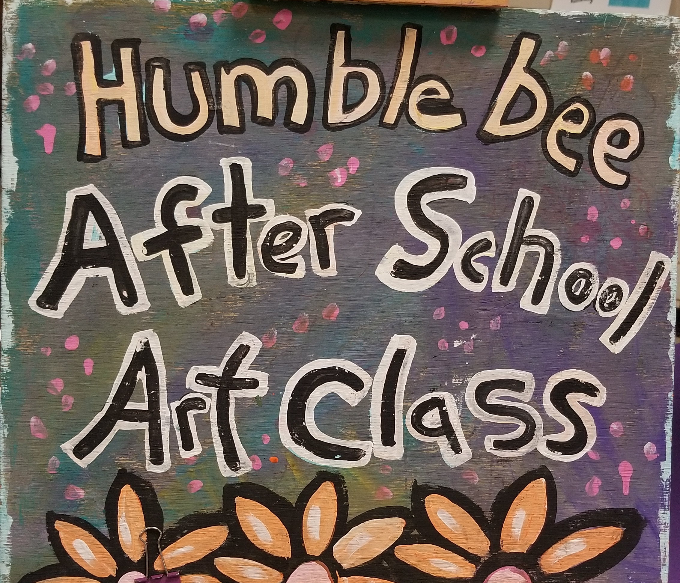 Humblebee After School Art Class