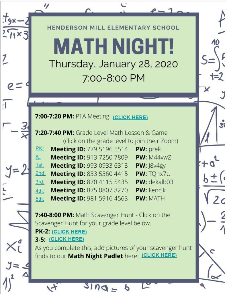 Math NIght