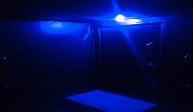 Blue Safety Light