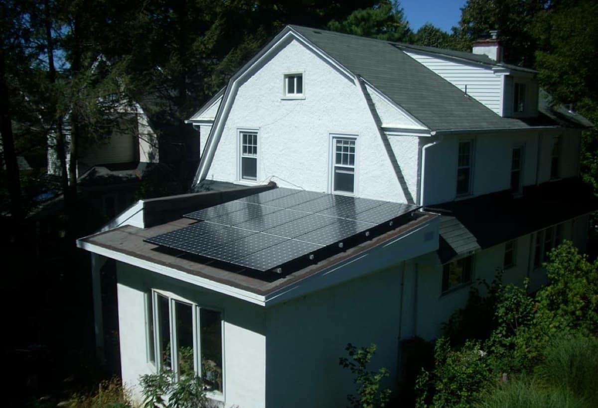 4.4 kW Solar Installation - Swarthmore, PA