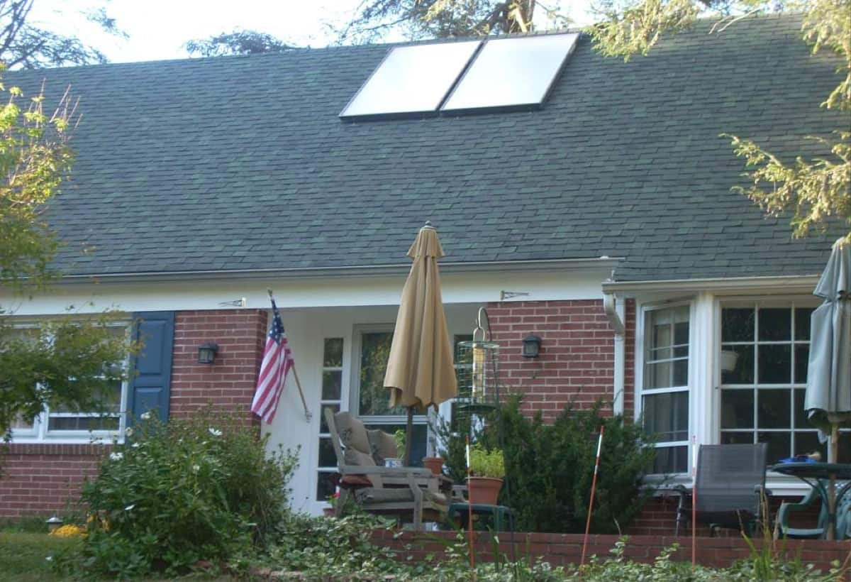 Solar Hot Water System - Swarthmore, PA