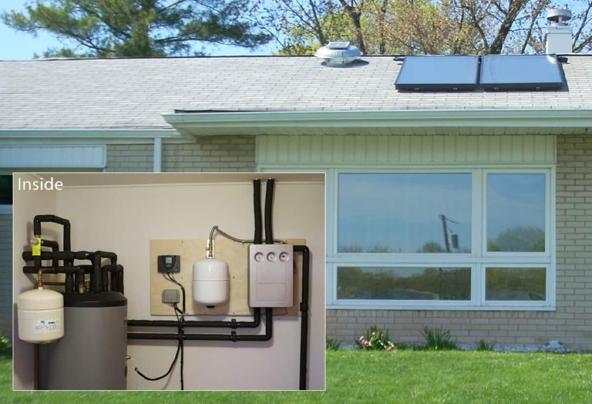 Solar Hot Water System With Boiler Backup - Plymouth Meeting, PA
