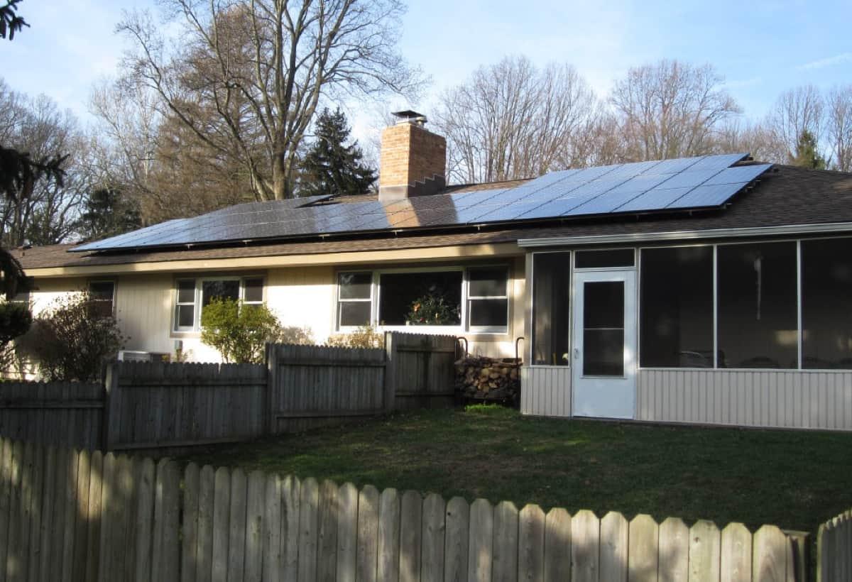 9.9 kW Solar Installation - Media, PA