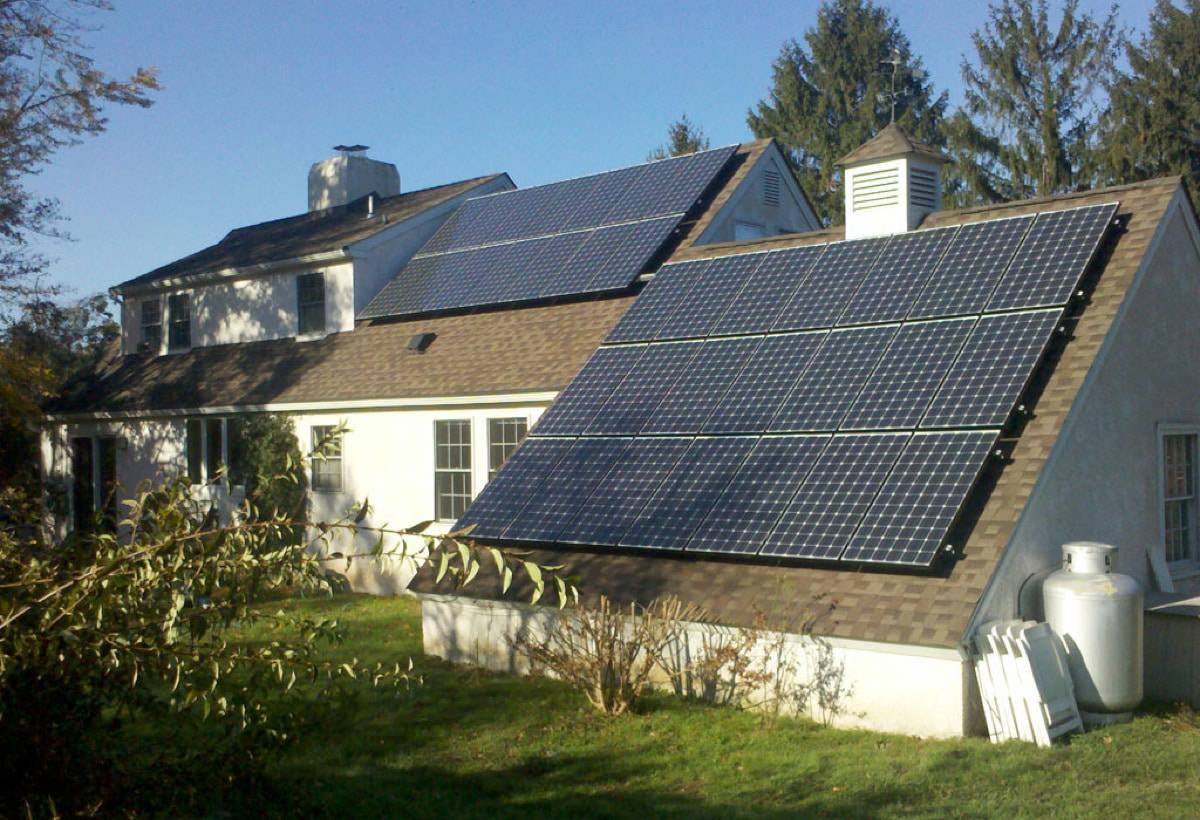 7.7 kW Solar Installation - Mechanicsville, PA