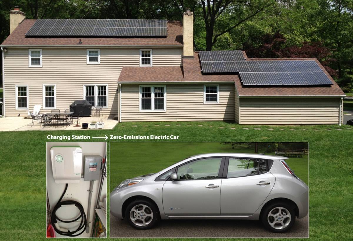10.57 kW Solar Installation - Newtown Square, PA