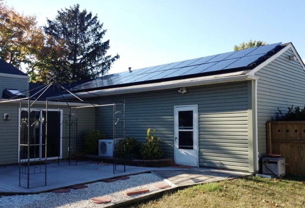 4.5 kW Solar Installation - Cinnaminson, NJ