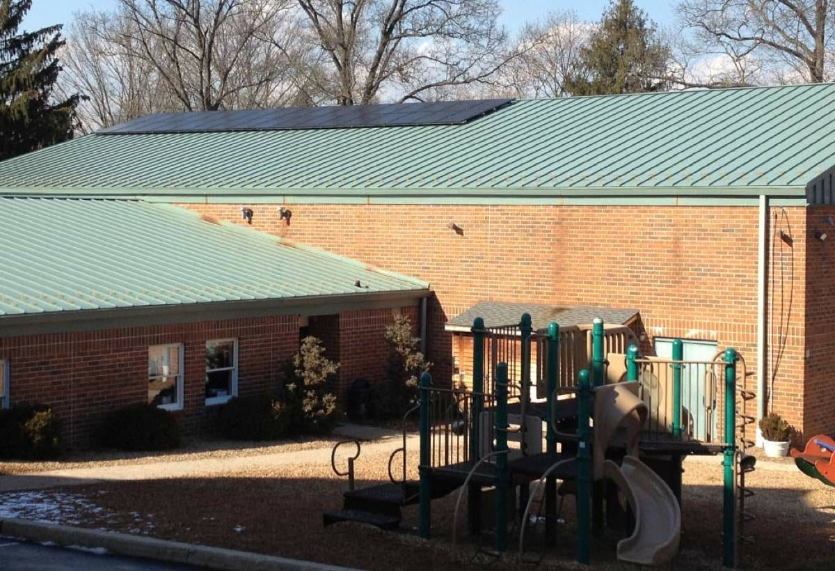 8.8 kW Solar Installation, Providence Friends School - Media, PA