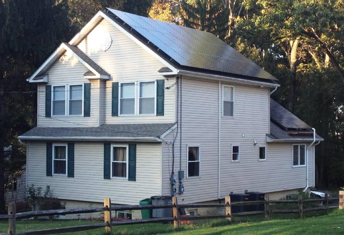 9.12 kW Solar Installation - Berwyn, PA
