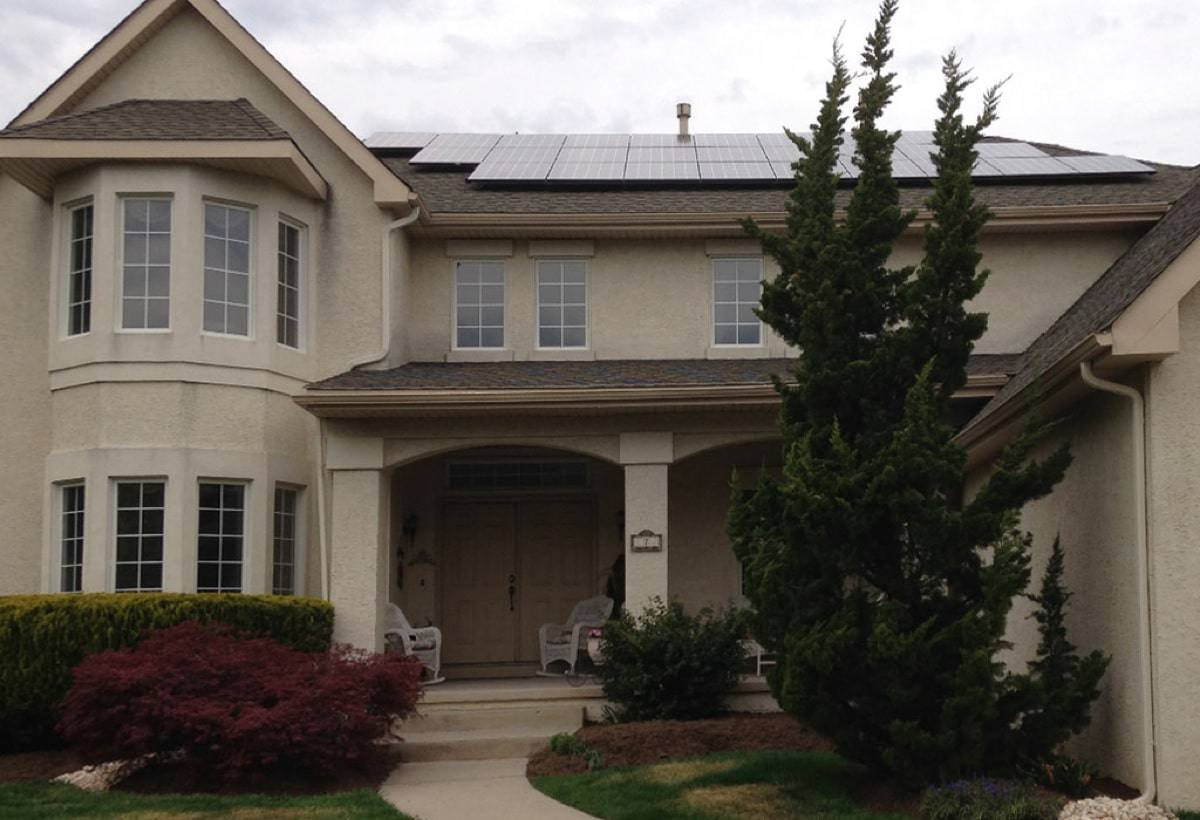 10.86 kW Solar Installation - Cherry Hill, NJ