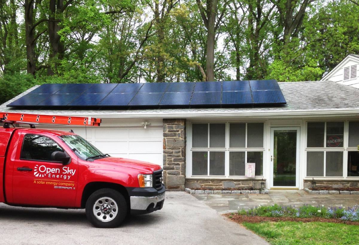 7.5 kW Solar Installation - Borough of Media, PA