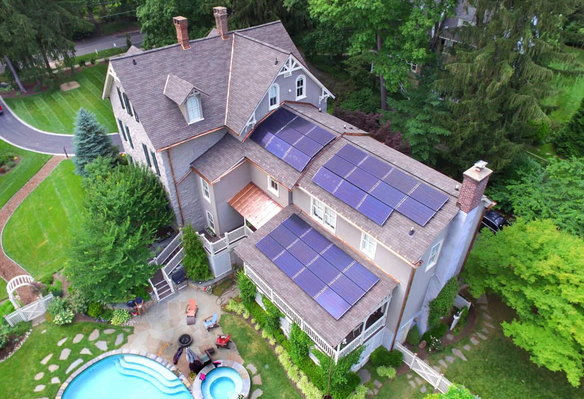 9.6 kW Solar Installation - Haverford PA