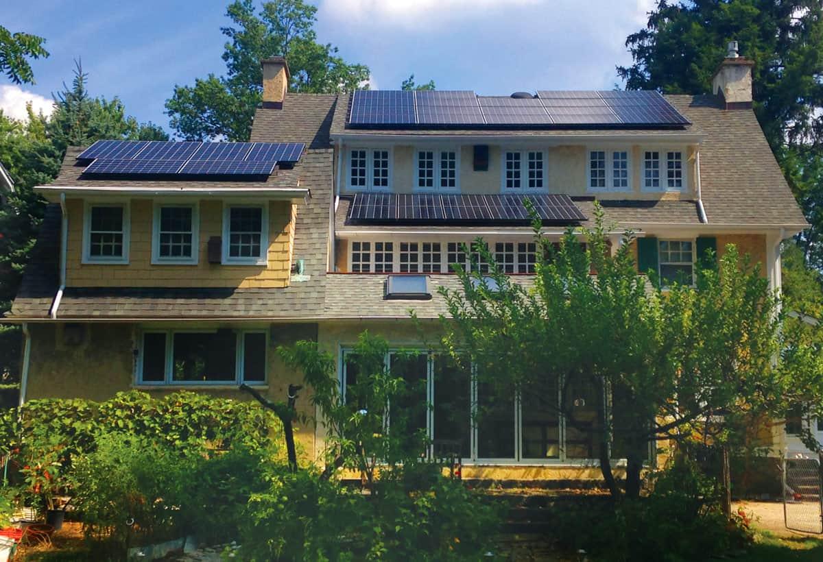 11.2 kW Solar Installation - Swarthmore PA