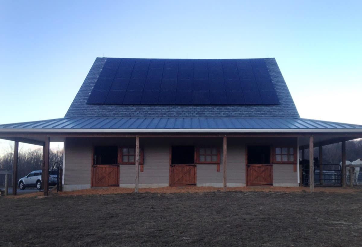 12.5 kW Solar Installation - Lincoln University, PA