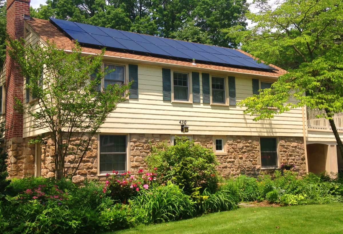5.6 kW Solar Installation - Swarthmore PA