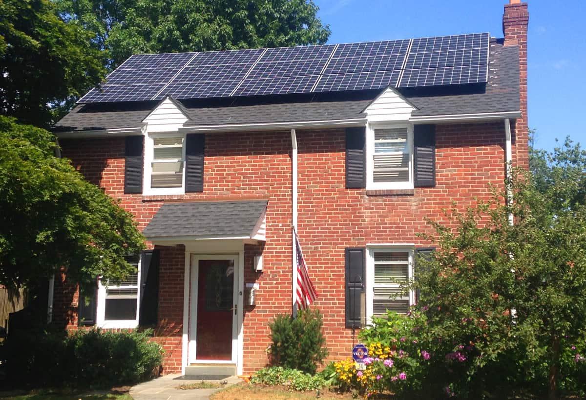 9.6 kW Solar Installation - Bryn Mawr PA