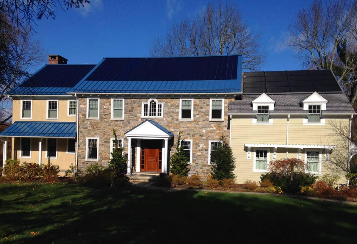 9.6 kW Solar Installation - Gladwyne, PA