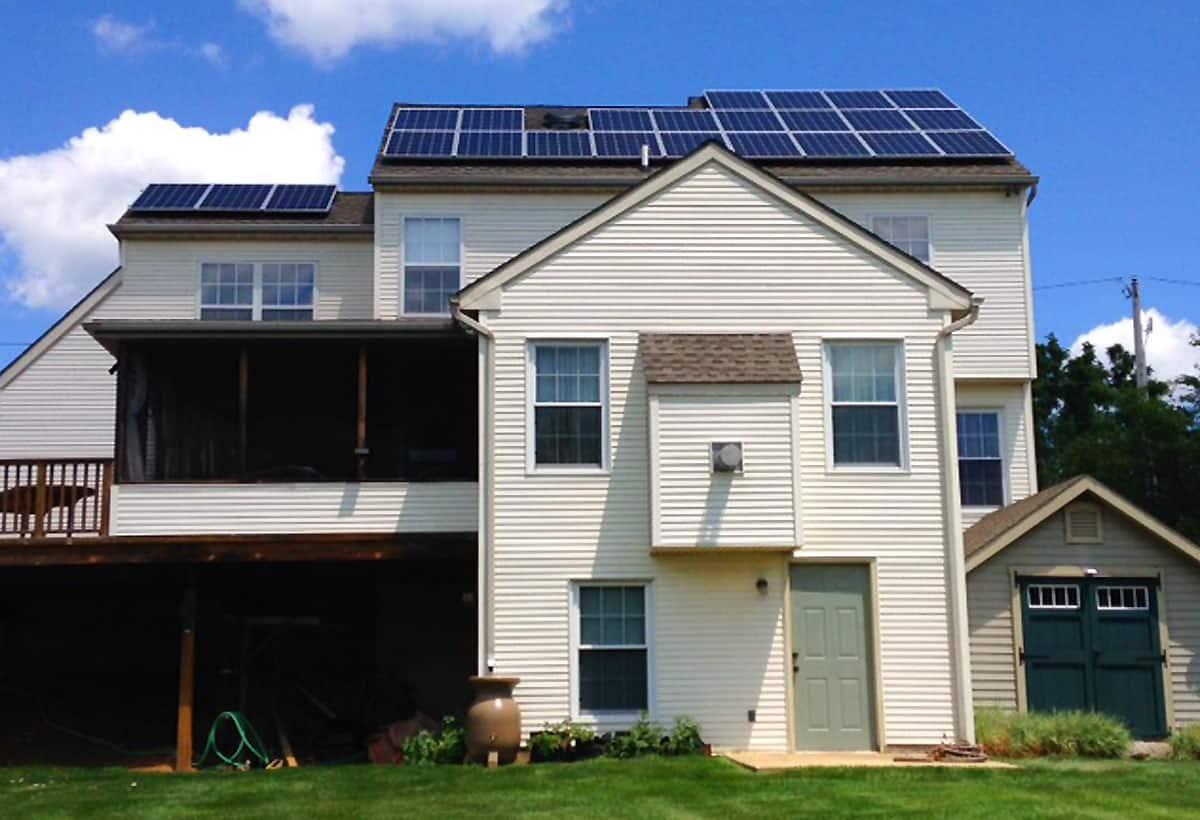 7.6 kW Solar Installation - Aston, PA