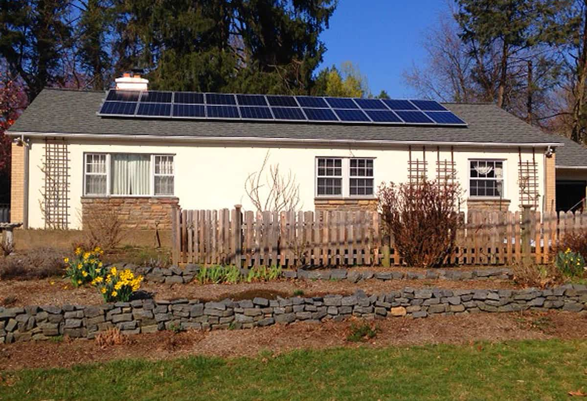 5.94 kW Solar Installation - Chestnut Hill, PA