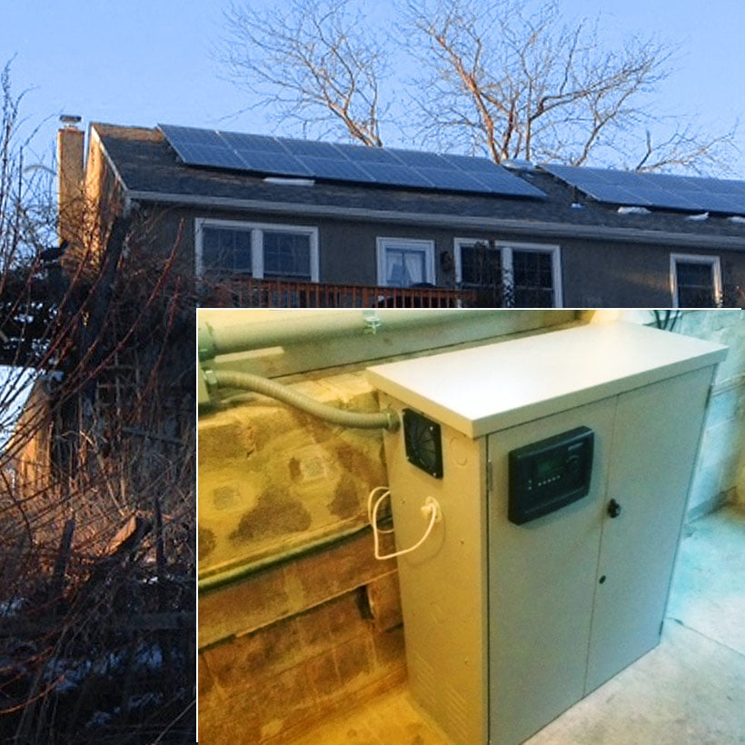 4.4 kW Solar Installation with Battery Backup - Downingtown, PA
