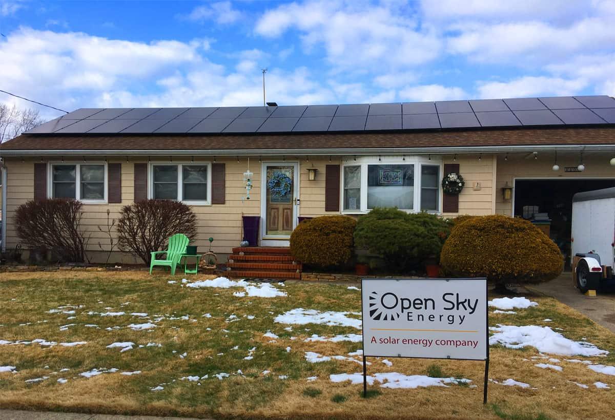 10.54 kW Solar Installation - Hamilton, NJ
