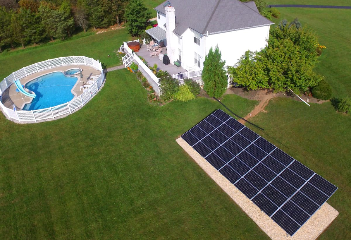 12.6 kW Solar Installation - Pennsburg, PA