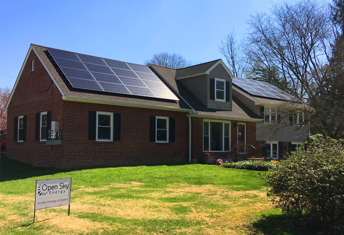 9.6 kW Solar Installation - Wallingford, PA