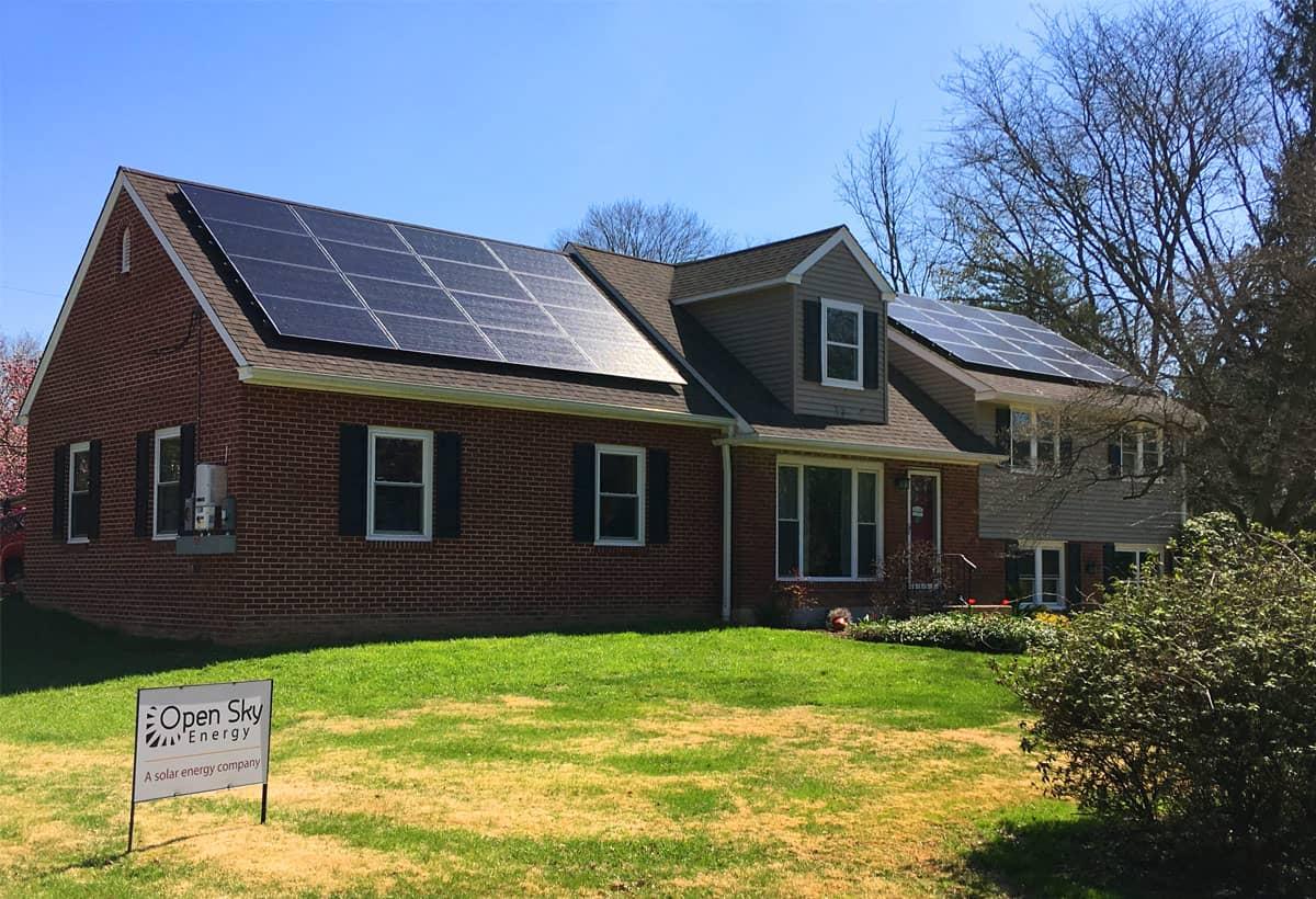 9.6 kW Solar Installation - Wallingford, PA