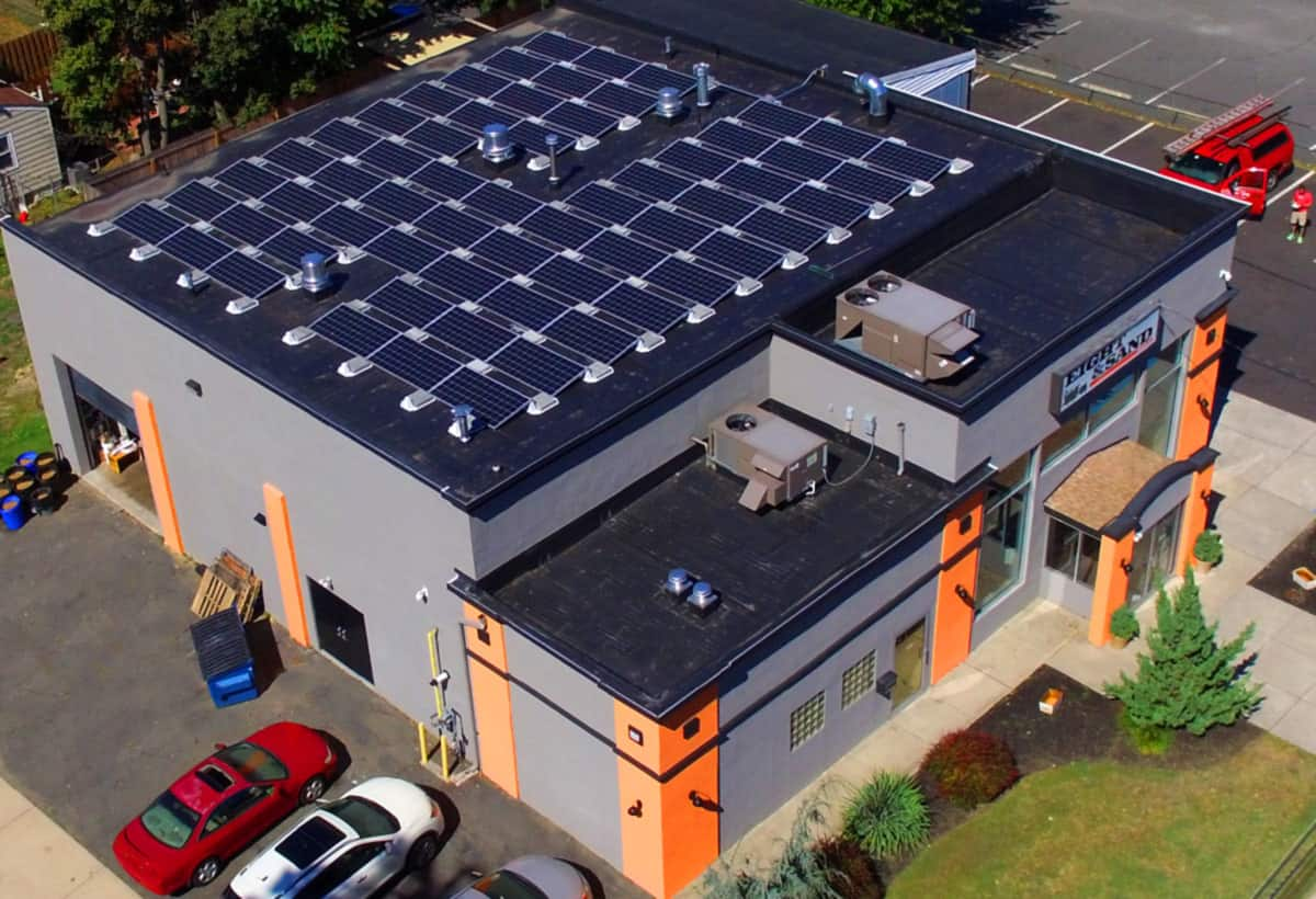 21.7 kW Solar Installation - Woodbury, NJ