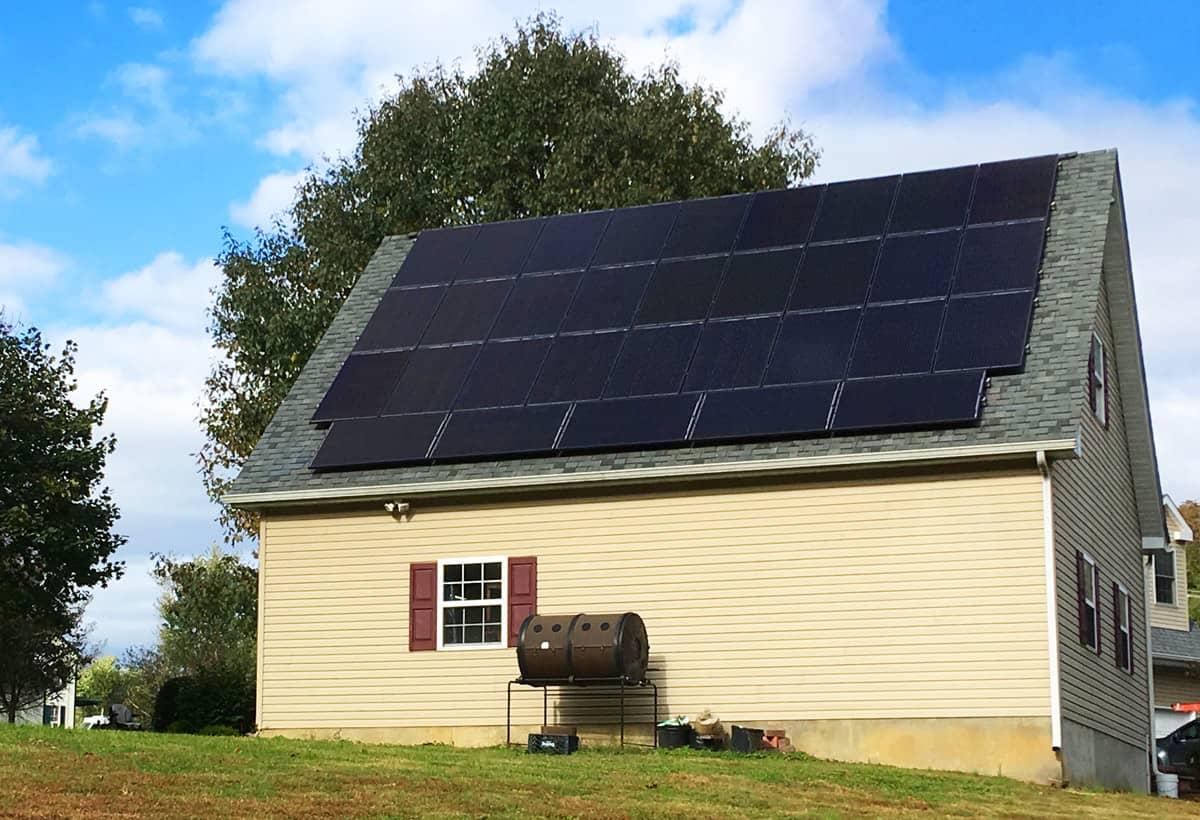 11.1 kW Solar Installation - Thornton, PA