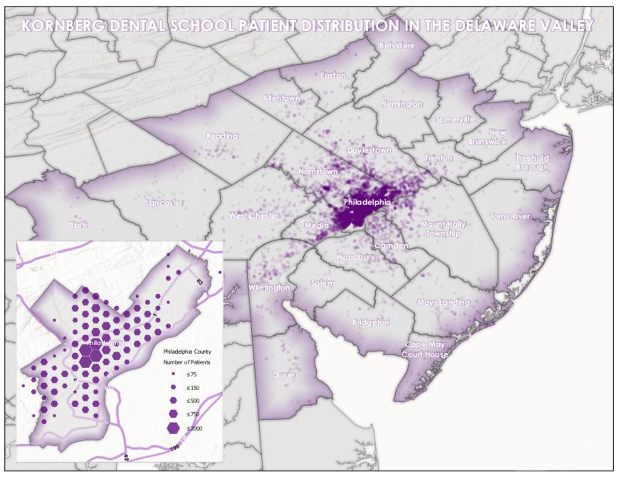 Patient Distribution Map