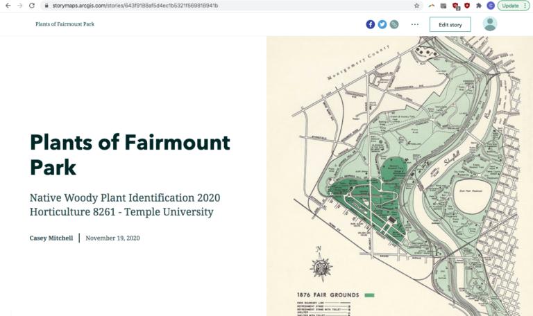 Plants of Fairmount Park