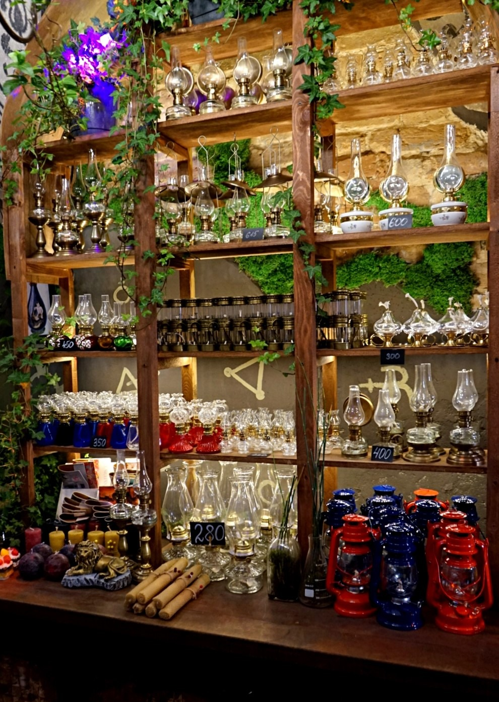The souvenir store at Galician Alchemy