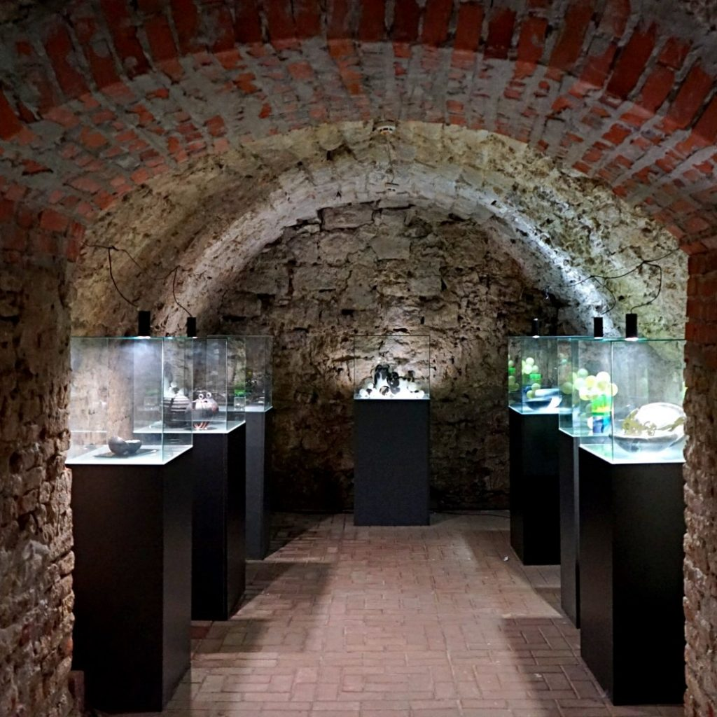 The museum is located in dungeons in Lviv. Part of the most interesting Lviv museums