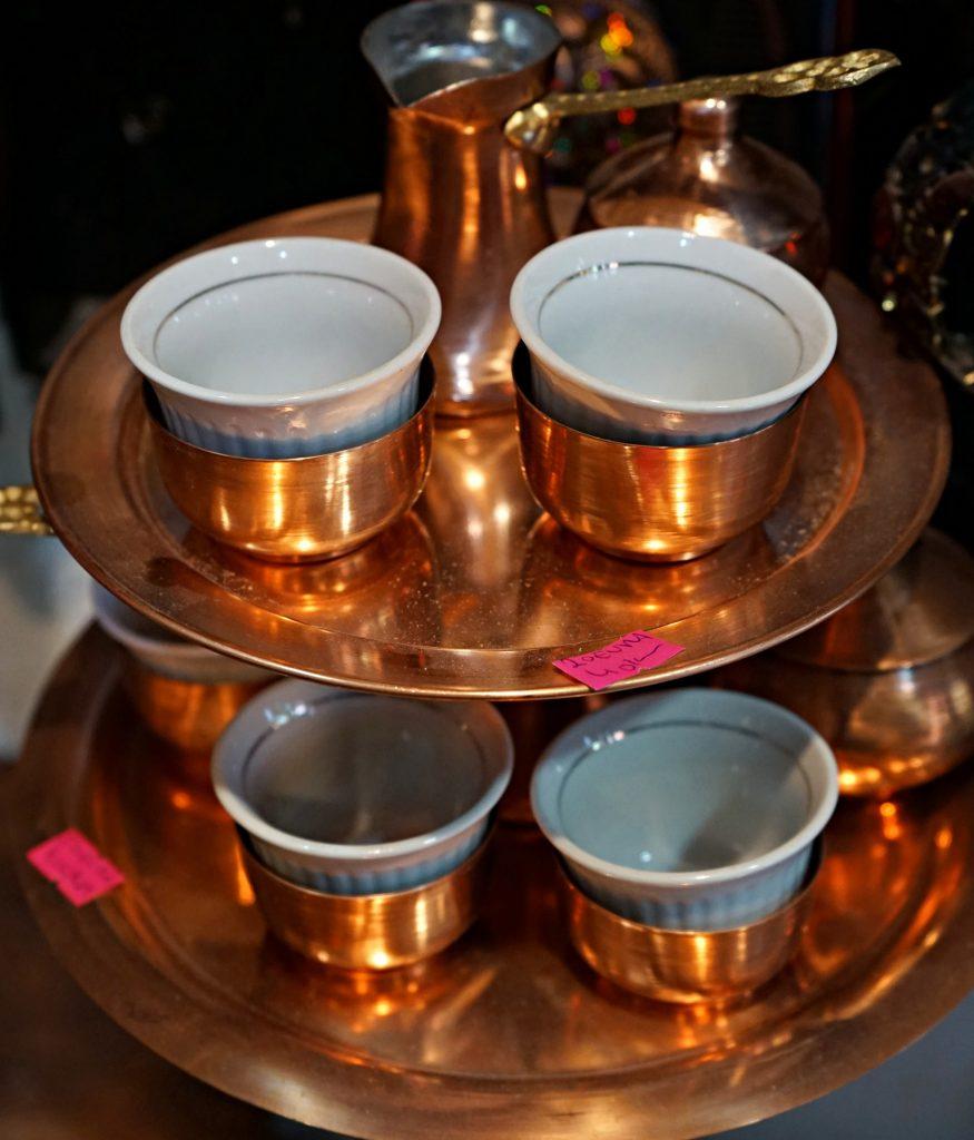 Copper coffee set for 30-40 KM