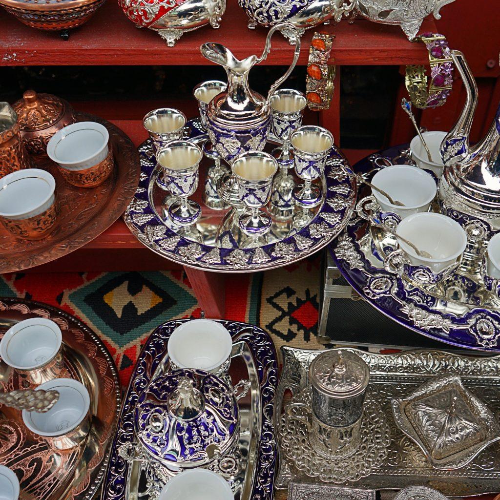 Workshop located on Kazandziluk street in Sarajevo where you can buy souvenirs