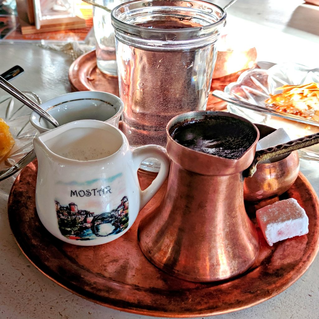How people in Bosnia and Herzegovina drink coffee