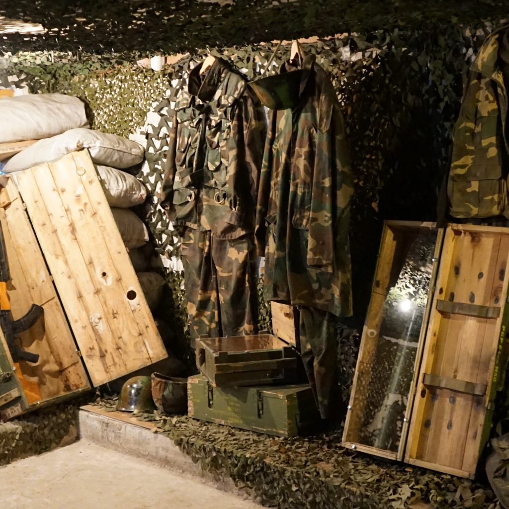 The war museum next to the tunnel of Hope in Sarajevo