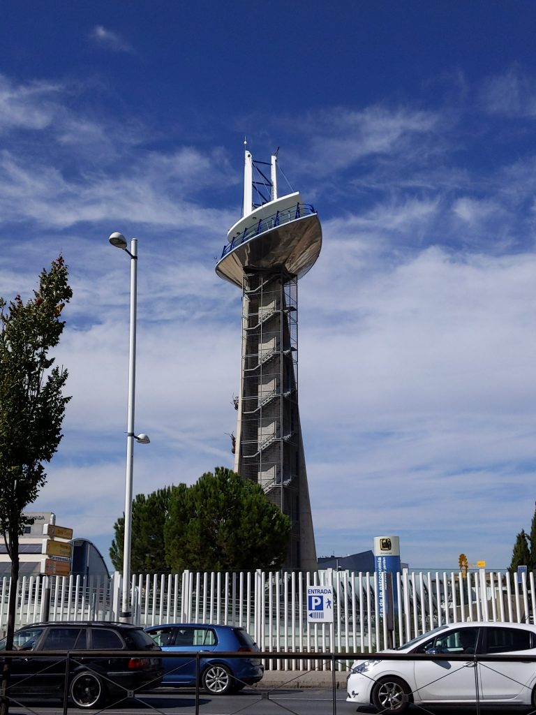 Observation Tower at the science park in Granada
