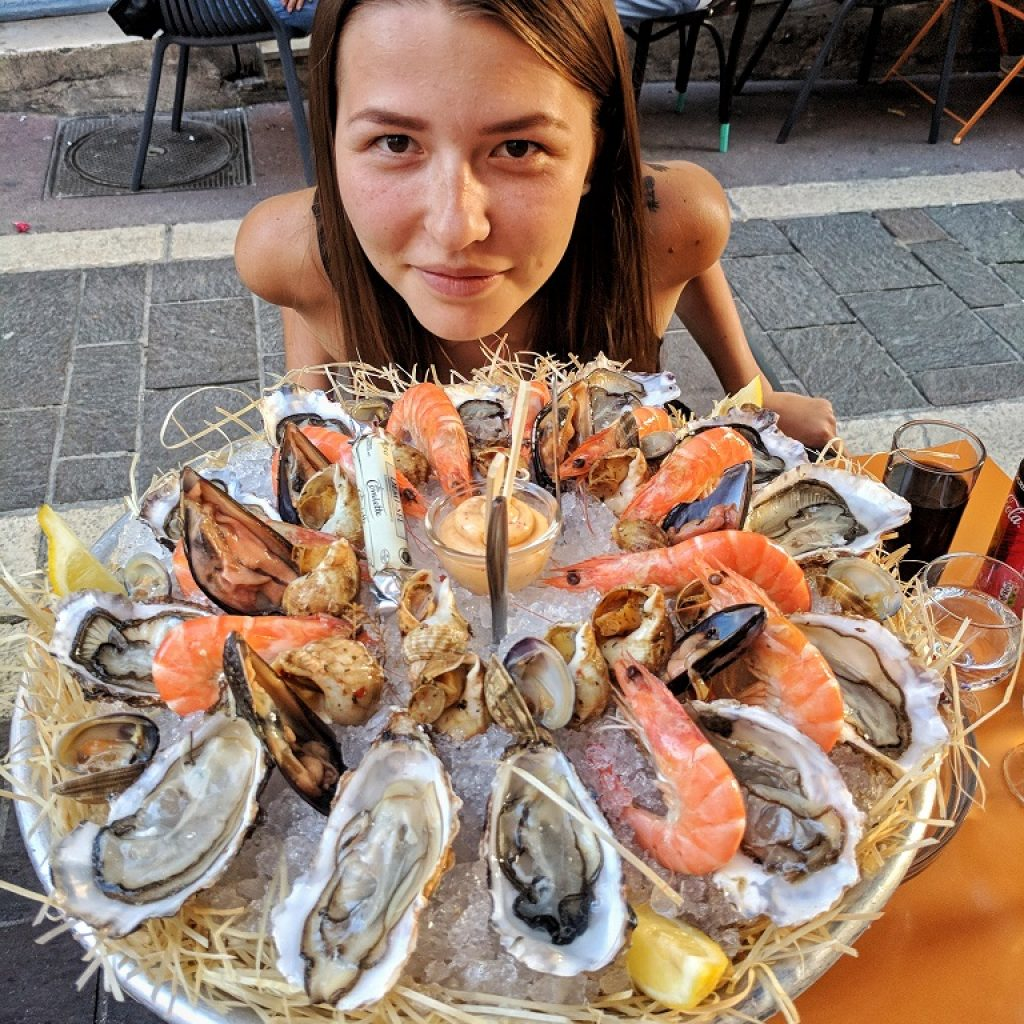 Fresh Seafood in Marseille