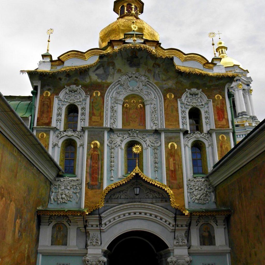 Kyiv Pechersk Lavra main gate