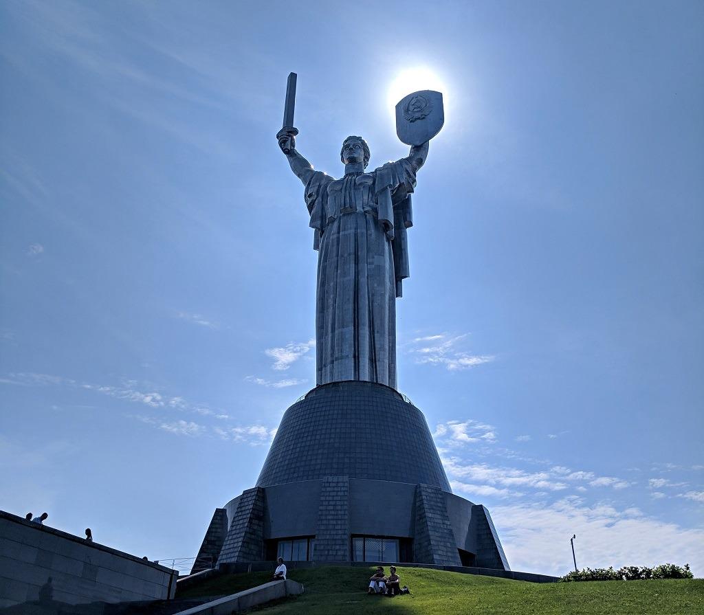The Best Self Guided Walking Tour Of Kyiv: Motherland Kyiv Ukraine